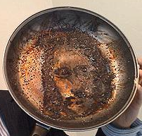 Jesus In a Frying Pan